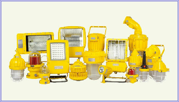 explosion proof lights and light fittings